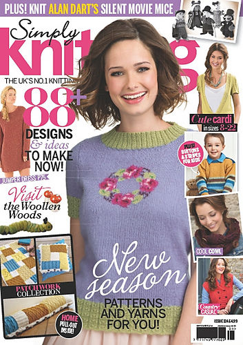 Simply Knitting Magazine issue no 124 September 2014 - product images