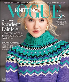 Vogue,Knitting,Fall,2018,Vogue  Knitting  Fall 2018, Classic Vogue, sweaters, family knit, designers