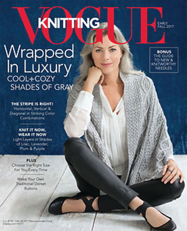 Vogue  Knitting Early Fall 2017 - product images