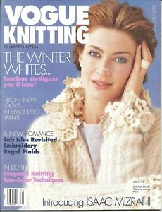 Vogue,Knitting,Winter,1997/1998,Vogue  Knitting Winter 1997/1998, Classic Vogue, sweaters, family knit, designers