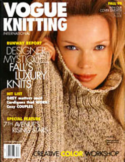 Vogue,Knitting,Fall,1998,Vogue  Knitting Fall 1998, Classic Vogue, sweaters, family knit, designers