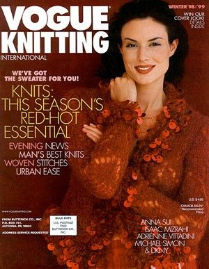 Vogue,Knitting,Winter,1998/1999,Vogue  Knitting Winter 1998/1999, Classic Vogue, sweaters, family knit, designers