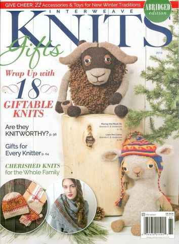 Interweave,Knits,Gifts,2018,Interweave Knits gifts 2018,interweave knits, interweave,knits,magazine,Summer 2007,crochet,yarn,kg krafts