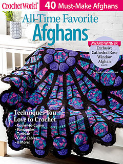 Crochet,World,All,Time,Favorite,Afghans,Crochet World All Time Favorite Afghans,kg krafts,craft supplies,crochet,magazine,patterns