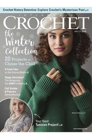 Interweave,Crochet,Winter,2019,Interweave Crochet Winter 2019,knit,crochet,kg krafts