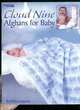 Cloud Nine Afghans for Baby by Melissa Leapman Leisure Arts 3457 - product images