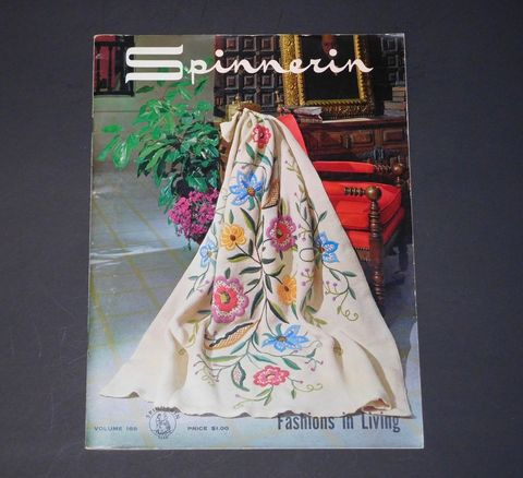 Spinnerin,Fashions,in,Living,vol,168,Spinnerin Fashions in Living vol 168,needlearts,needlework,kg krafts