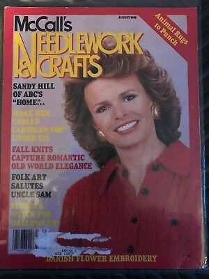 McCall's Needlework and Crafts August 1988 - product images