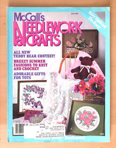 McCall's,Needlework,and,Crafts,June,1988,McCall's Needlework and Crafts June 1988,kg krafts,knit, patterns,crochet