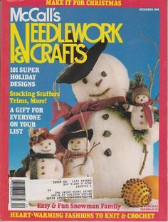 McCall's,Needlework,and,Crafts,December,1988,McCall's Needlework and Crafts December 1988,kg krafts,knit, patterns,crochet