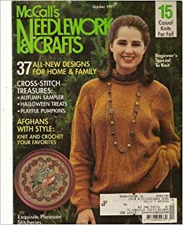 McCall's,Needlework,and,Crafts,October,1991,McCall's Needlework and Crafts October 1991,kg krafts,knit, patterns,crochet
