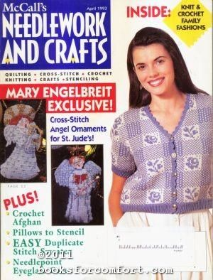 McCall's,Needlework,and,Crafts,April,1993,McCall's Needlework and Crafts April 1993,kg krafts,knit, patterns,crochet