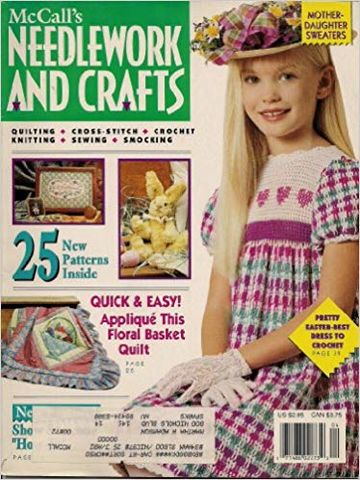 McCall's,Needlework,and,Crafts,April,1992,McCall's Needlework and Crafts April 1992,kg krafts,knit, patterns,crochet