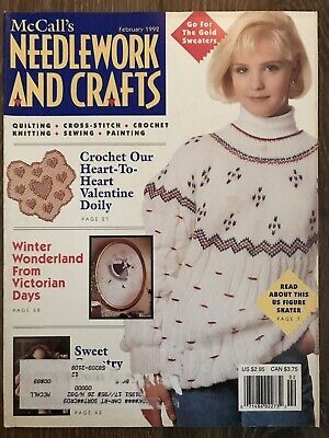 McCall's,Needlework,and,Crafts,February,1992,McCall's Needlework and Crafts February 1992,kg krafts,knit, patterns,crochet