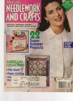McCall's Needlework and Crafts June 1992 - product images