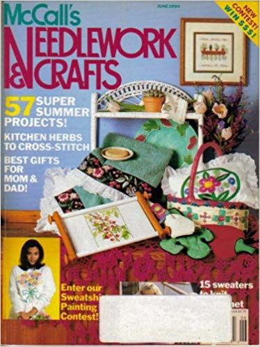 McCall's Needlework and Crafts June 1990 - product images