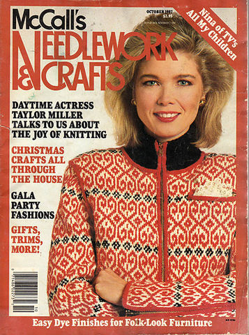 McCall's,Needlework,and,Crafts,October,1987,McCall's Needlework and Crafts,  December 1987,kg krafts,knit, patterns,crochet
