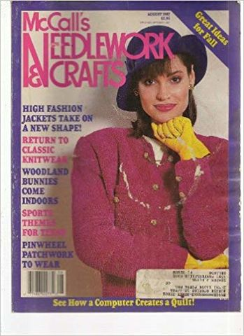 McCall's,Needlework,and,Crafts,August,1987,McCall's Needlework and Crafts,  August 1987,kg krafts,knit, patterns,crochet