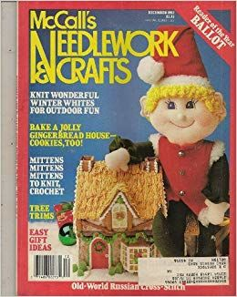 McCall's Needlework and Crafts December 1987 - product images
