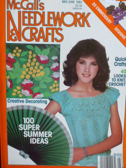 McCall's Needlework and Crafts May/June 1982 - product images