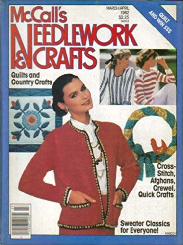 McCall's Needlework and Crafts March/April 1982 - product images