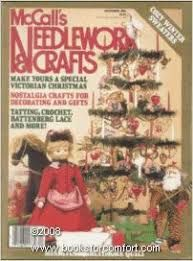 McCall's Needlework and Crafts December 1986 - product images