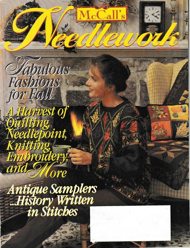 McCall's Needlework October 1993 - product images