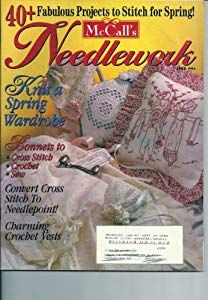 McCall's,Needlework,April,1994,McCall's Needlework, April 1994,kg krafts,knit, patterns,crochet