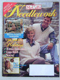 McCall's,Needlework,October,1995,McCall's Needlework,October 1995,kg krafts,knit, patterns,crochet
