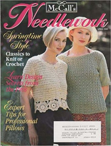 McCall's,Needlework,April,1995,McCall's Needlework,April 1995,kg krafts,knit, patterns,crochet