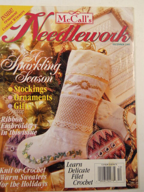 McCall's Needlework December 1995 - product images