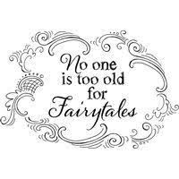 Stampendous,Cling,Rubber,Stamps,No,One,is,Too,Old,for,Fairytales,Stampendous , Rubber ,Stamps ,Happy Birthday Gorgeous,kg krafts,scrapbook, supplies,craft supplies