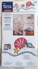 Plaid,Stencil,Decor,Seaside,Shells,26710,Plaid Stencil Decor Seaside Shells 26710,stencils,stencilling, painting,kg krafts, beverly decor international
