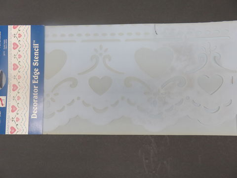 Plaid,Simply,Stencils,Eyelet,Hearts,28770,Plaid Simply Stencils Eyelet Hearts 28770,paint,home decor,kg krafts