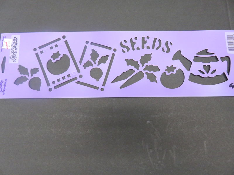 Simply Stencils by Plaid Garden Seeds 28912 - product images