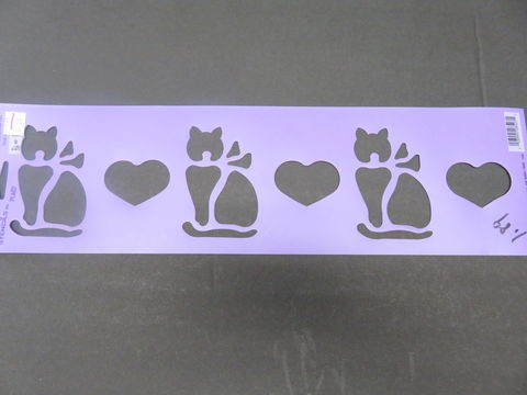 Simply,Stencils,by,Plaid,Windowsill,Cat,28527,Simply Stencils by Plaid Windowsill Cat 28527,kg krafts,craft supplies,stencils,crafts