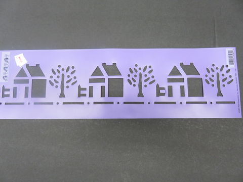 Simply,Stencils,by,Plaid,Lil',Wood'n,House,28582,Simply Stencils by Plaid Lil' Wood'n House 28582,kg krafts,craft supplies,stencils,crafts