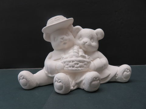 Pilgrim,Cuddle,Bears,with,Apple,Basket,in,Ready,to,Paint,Ceramic,Bisque, Pilgrim Cuddle Bears with Apple Basket in Ready to Paint Ceramic Bisque,ceramic bisque,ready to paint,ceramics, bisque,kg krafts,teddy bears, cuddle bears,clay magic
