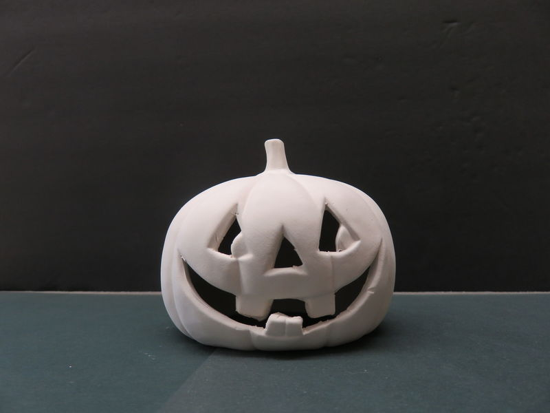 Ceramic Pumpkin in Ready to Finish Bisque - product images