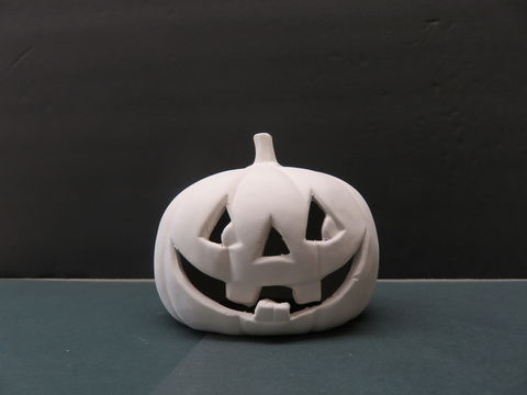 Ceramic,Pumpkin,in,Ready,to,Finish,Bisque,Ceramic Pumpkin in Ready to Finish Bisque,ceramic bisque,kg krafts,ready to paint,pumpkin,halloween,fall