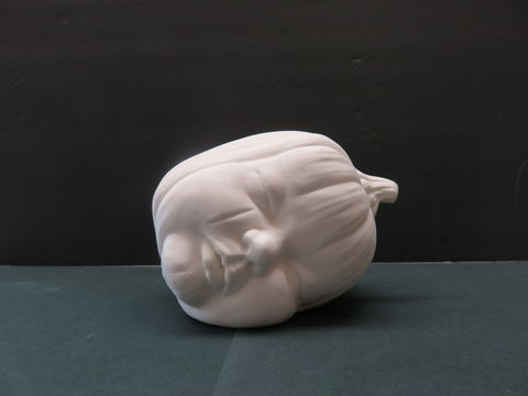 Ceramic,Baby,Sleeping,Pumpkin,in,Ready,to,Finish,Bisque,Ceramic Baby Sleeping Pumpkin in Ready to Finish Bisque,ceramic bisque,kg krafts,ready to paint,pumpkin,halloween,fall