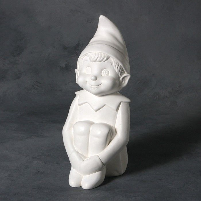 Vintage Elf in Ready to Paint Ceramic Bisque - product images