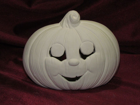 Pumpkin,with,Cutout,Face,Light,up,in,Ready,to,Paint,Ceramic,Bisque,pumpkin with cutout face light up in ready to paint ceramic bisque,kg krafts,painting surface,ceramics
