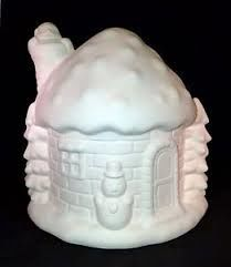 Spectrum Snow House Ceramic Bisque  - product images