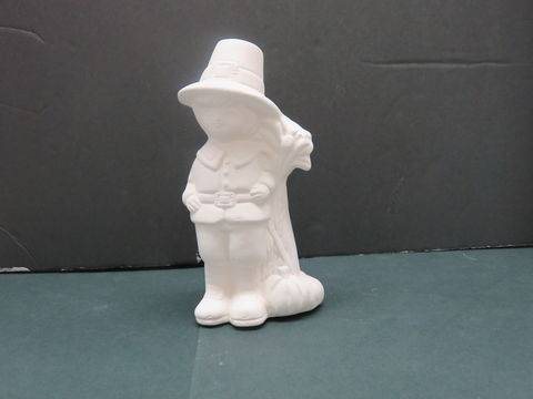 Pilgrim,Boy,with,Flower,Bunch,in,Ready,to,Paint,Ceramic,Bisque, Pilgrim Boy with Corn Stalk and Pumpkins in Ready to Paint Ceramic Bisque,ceramic bisque,ready to paint,ceramics, bisque,kg krafts,teddy bears, cuddle bears,clay magic
