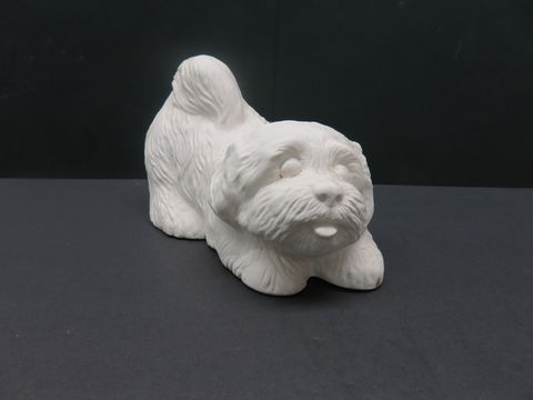 Llasa,Apso,Unfinished,Ceramic,Bisque,ready,to,paint,ceramic bisque,ready to paint,ceramics, bisque,kg krafts,labrador,collie,puppy,dog,duncan molds