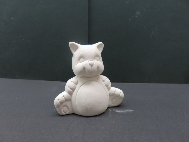 Cat Unfinished Ceramic Bisque ready to paint - product images