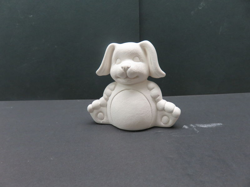 Dog Unfinished Ceramic Bisque ready to paint - product images