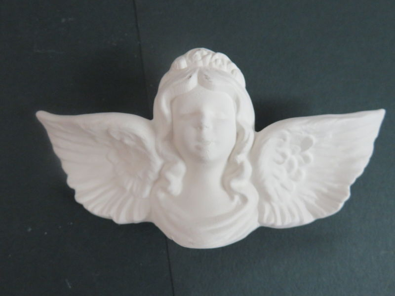 Angel Ornament Unfinished Ceramic Bisque ready to paint - product images