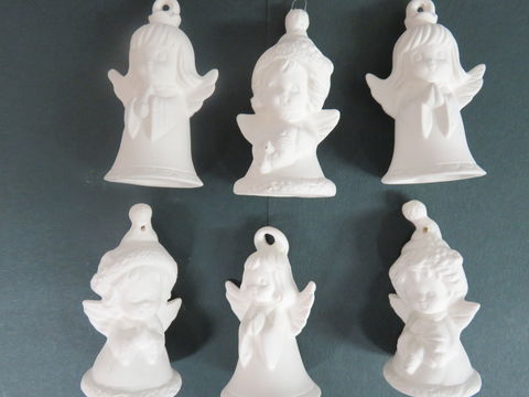 Angel,Ornament,Set,Unfinished,Ceramic,Bisque,ready,to,paint,Angel Ornament set,ceramic bisque,ready to paint,ceramics, bisque,kg krafts